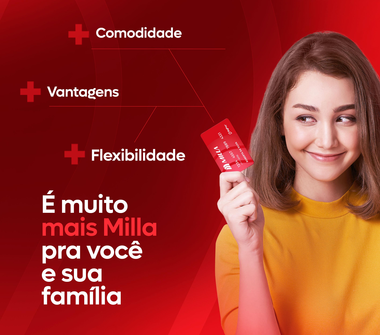 Banner Mob cartão milla