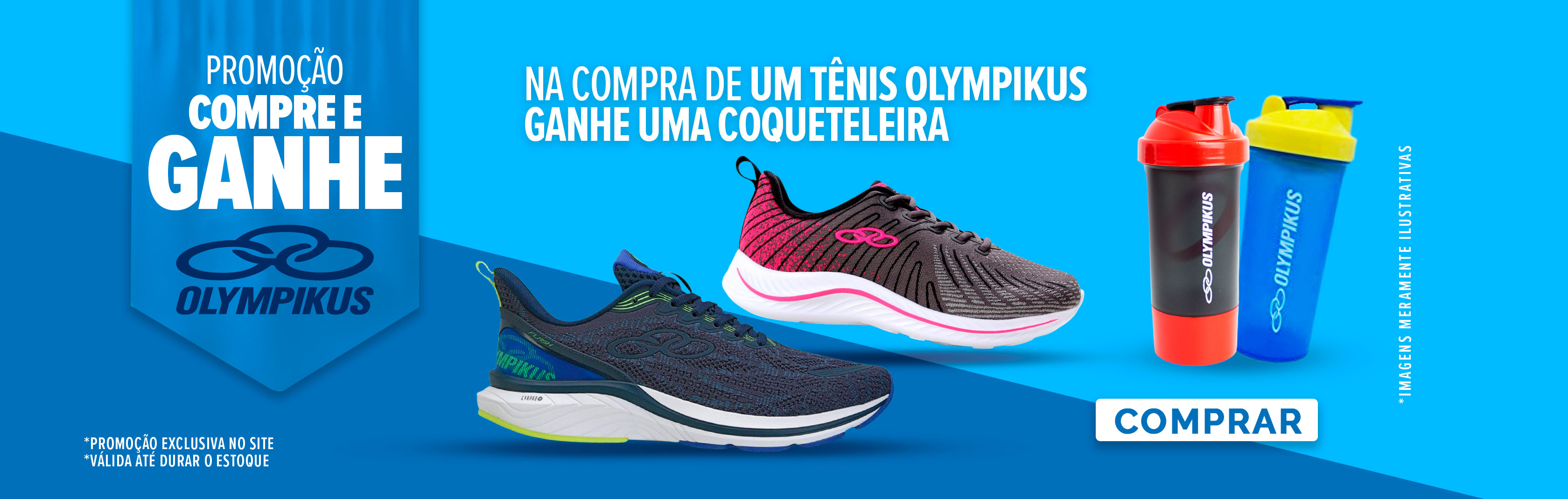 Banner Campanha olympikus